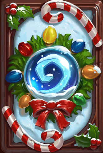 Card back: Winter Veil Wreath