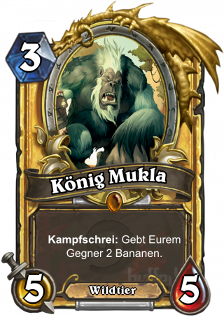 König Mukla / King Mukla - Diener - Karte - Hearthstone ...
