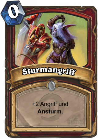 Sturmangriff (Charge) - Ansturm