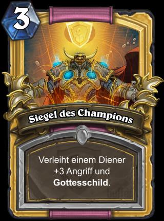 Siegel Des Champions
