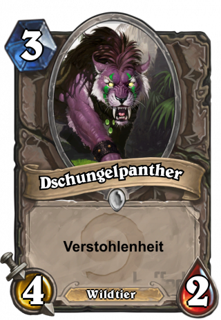 Dschungelpanther (Jungle Panther) - Verstohlenheit