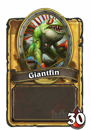 Giantfin (Giantfin) - Hero Power\nDraw cards until you have as many in hand as your opponent.
