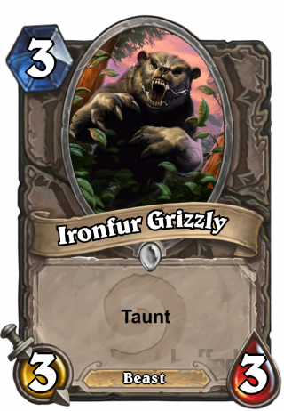 Ironfur Grizzly (Ironfur Grizzly) - Taunt