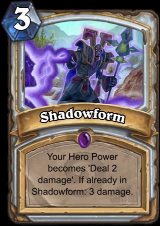 Shadowform - Spell - Card - Hearthstone database, guides, deck builder