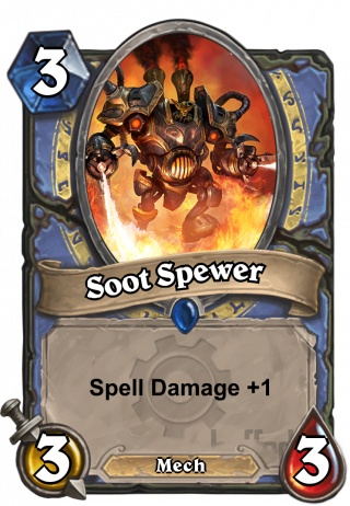 Soot Spewer (Soot Spewer) - Spell Damage +1
