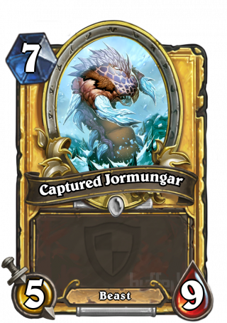 Captured Jormungar (Captured Jormungar)