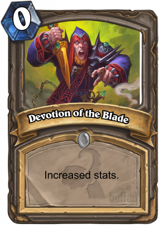 Devotion of the Blade (Devotion of the Blade) - Increased stats.