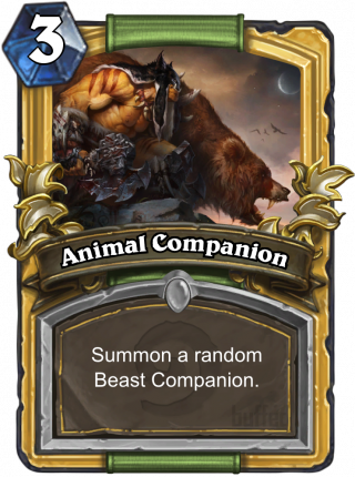 Animal Companion (Animal Companion) - Summon a random Beast Companion.