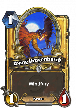 Young Dragonhawk (Young Dragonhawk) - Windfury