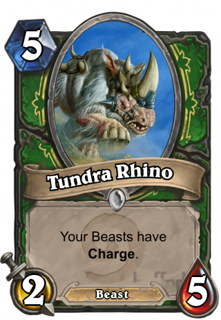 Tundra Rhino (Tundra Rhino) - Your Beasts have Charge.