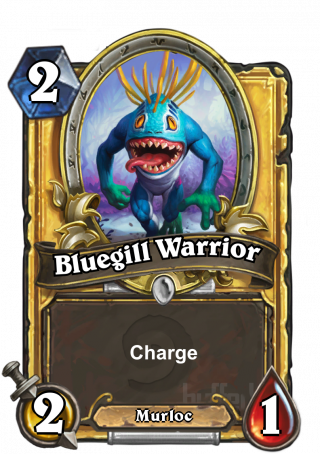 Bluegill Warrior (Bluegill Warrior) - Charge