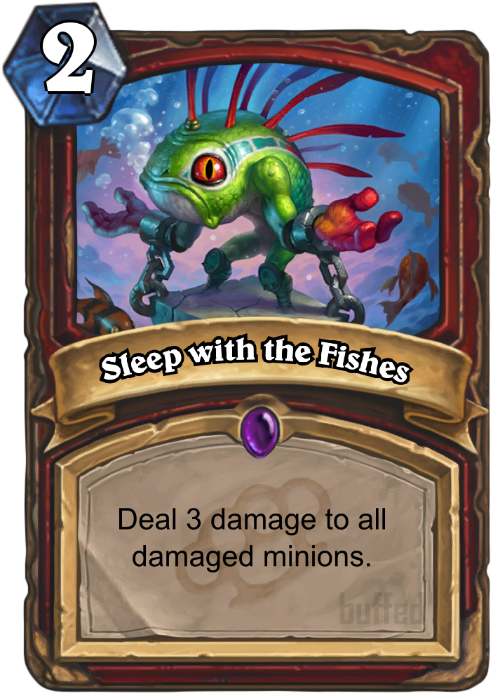 Sleep with the fishes spell card hearthstone for Sleeping with the fishes