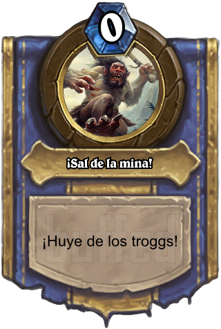 ¡Sal de la mina! (Flee the Mine!) - ¡Huye de los troggs!