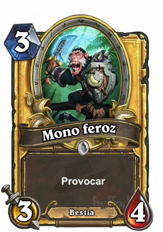 Mono feroz (Fierce Monkey) - Provocar