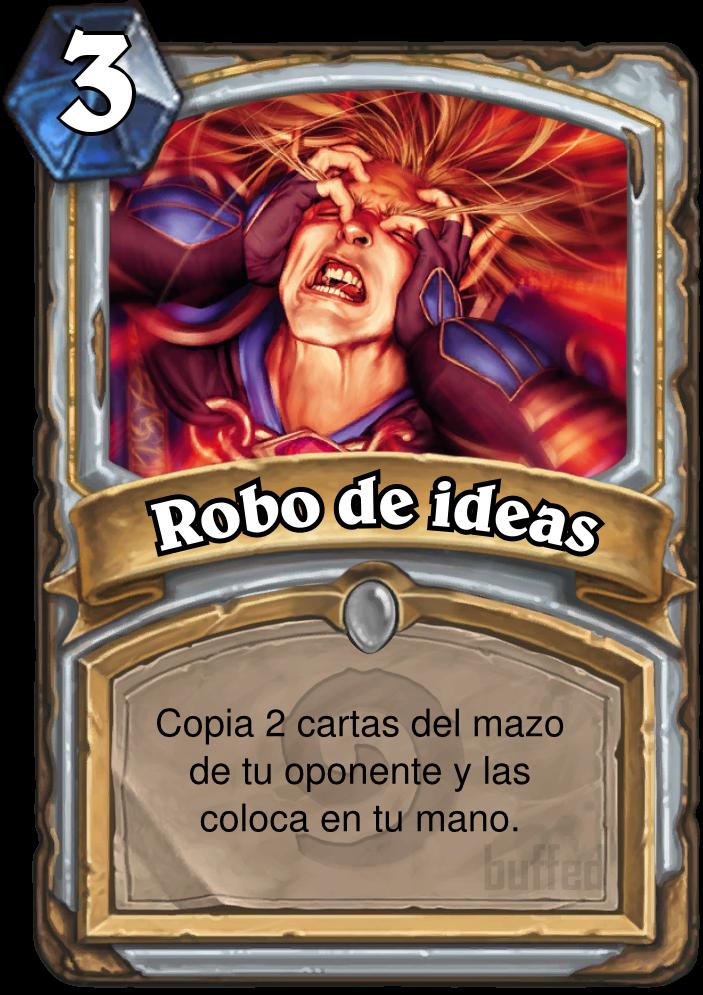 Robo De Ideas Thoughtsteal Hechizo Tarjeta