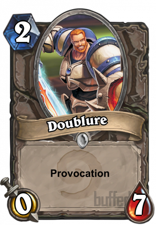 Doublure (Understudy) - Provocation