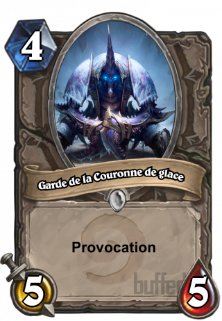 Garde de la Couronne de glace (Guardian of Icecrown) - Provocation