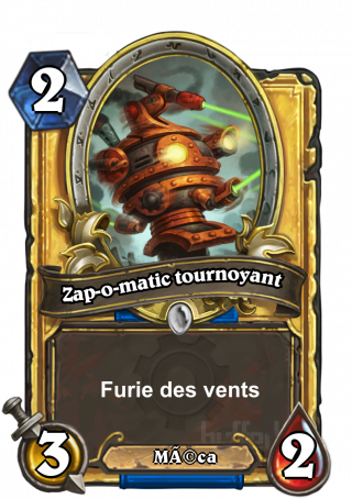 Zap-o-matic tournoyant (Whirling Zap-o-matic) - Furie des vents