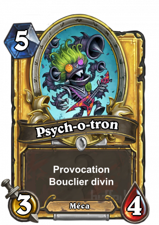 Psych-o-tron (Psych-o-Tron) - ProvocationBouclier divin