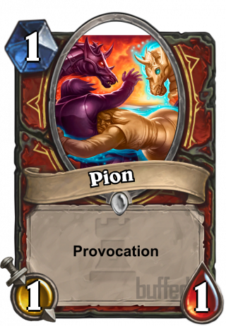 Pion (Pawn) - Provocation