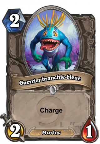 Guerrier branchie-bleue (Bluegill Warrior) - Charge