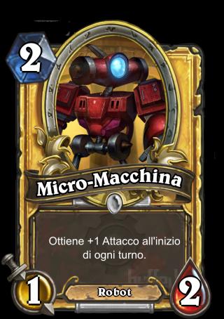 micro machine hearthstone
