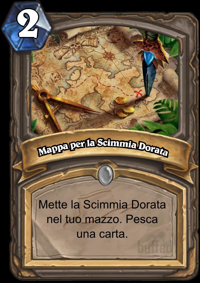 Mappa Per La Scimmia Dorata Map To The Golden Monkey