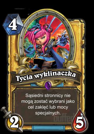 Tycia Wyklinaczka Wee Spellstopper Stronnik Karta