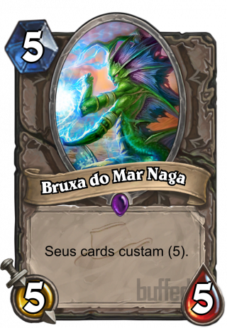 Bruxa do Mar Naga (Naga Sea Witch) - Seus cards custam (5).
